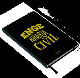 Livro Caderno de Anotações da Engenharia Civil