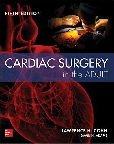 Livro Cardiac Surgery In The Adult