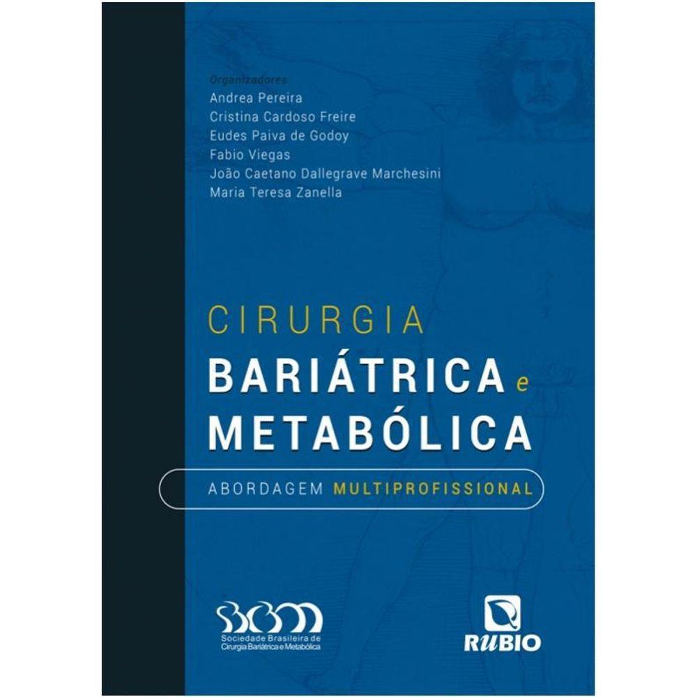 Livro Cirurgia Bariátrica E Metabólica Abordagem Multiprofissional