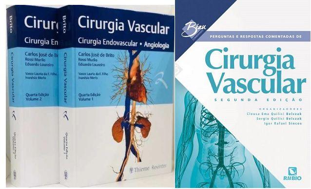 Cirurgia Vascular: Cirurgia Endovascular, Angiologia + Perguntas Comentadas de Cirurgia Vascular