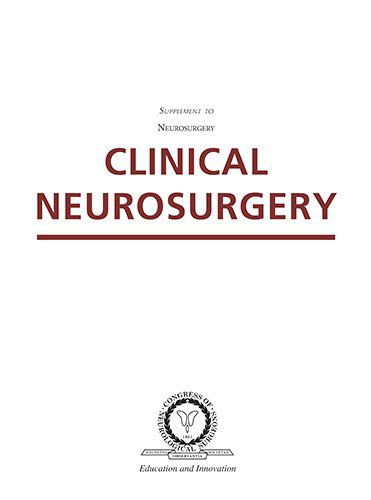 Livro Clinical Neurosurgery