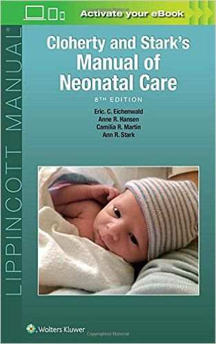 Livro Cloherty and Stark's Manual of Neonatal Care