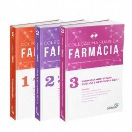 Coleção Manuais Da Farmácia Para Concursos E Residência(vols 1,2 & 3)