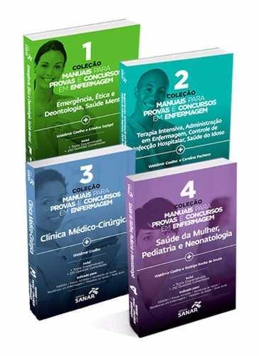 Coleção Manuais Para Provas E Concursos Em Enfermagem