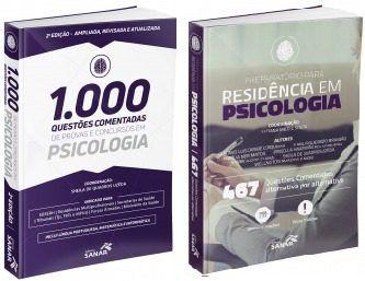 Combo 1000 Questões Psicologia 2ª Ed E 467 Questões Residência Psicologia