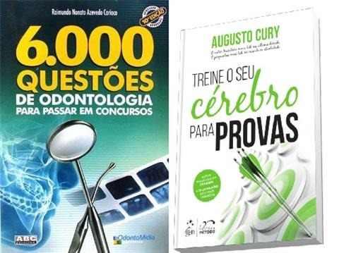 Combo 6.000 Questoes De Odontologia Para Concursos + Brinde