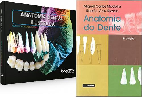 Combo Anatomia Dental Ilustrada + Anatomia Do Dente