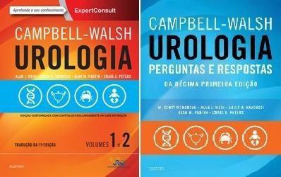 Combo Campbell Walsh Urologia & Campbell Perguntas & Respostas