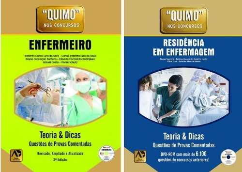 Combo - Quimo - Enfermeiro 2ªed + Residência Em Enfermagem 1ªed