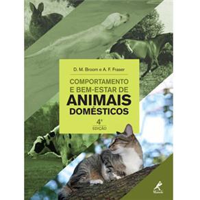 Livro Comportamento e Bem-Estar de Animais Domésticos