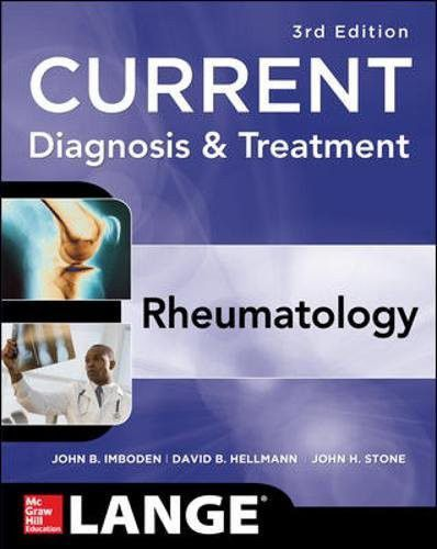 Livro Current Diagnosis & Treatment in Rheumatology