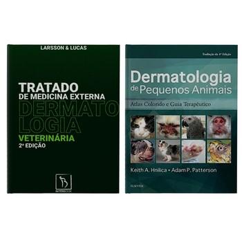 Dermatologia de Pequenos Animais + Tratado De Medicina Externa