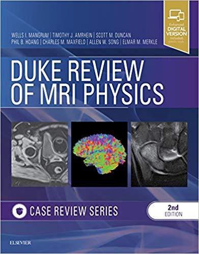 Livro Duke Review of MRI Physics: Case Review Series, 2ª Ed