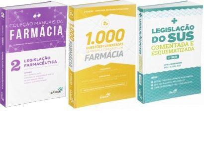 Farmácia Combo Preparatório Concurso