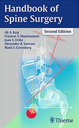 Livro Handbook of Spine Surgery