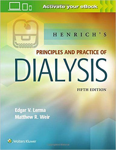 Livro Henrich's Principles and Practice of Dialysis