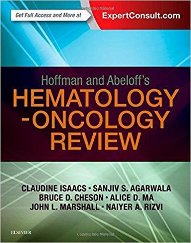 Livro Hoffman and Abeloff's Hematology-Oncology Review