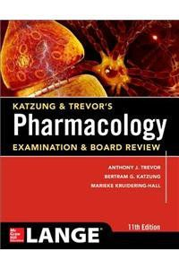 Livro Katzung & Trevor's Pharmacology Examination and Board Review,11th