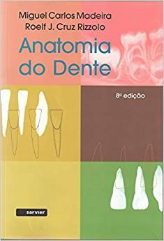 Kit De 3 Livros Anatomia Do Dente 8ª Edição 2016, Original
