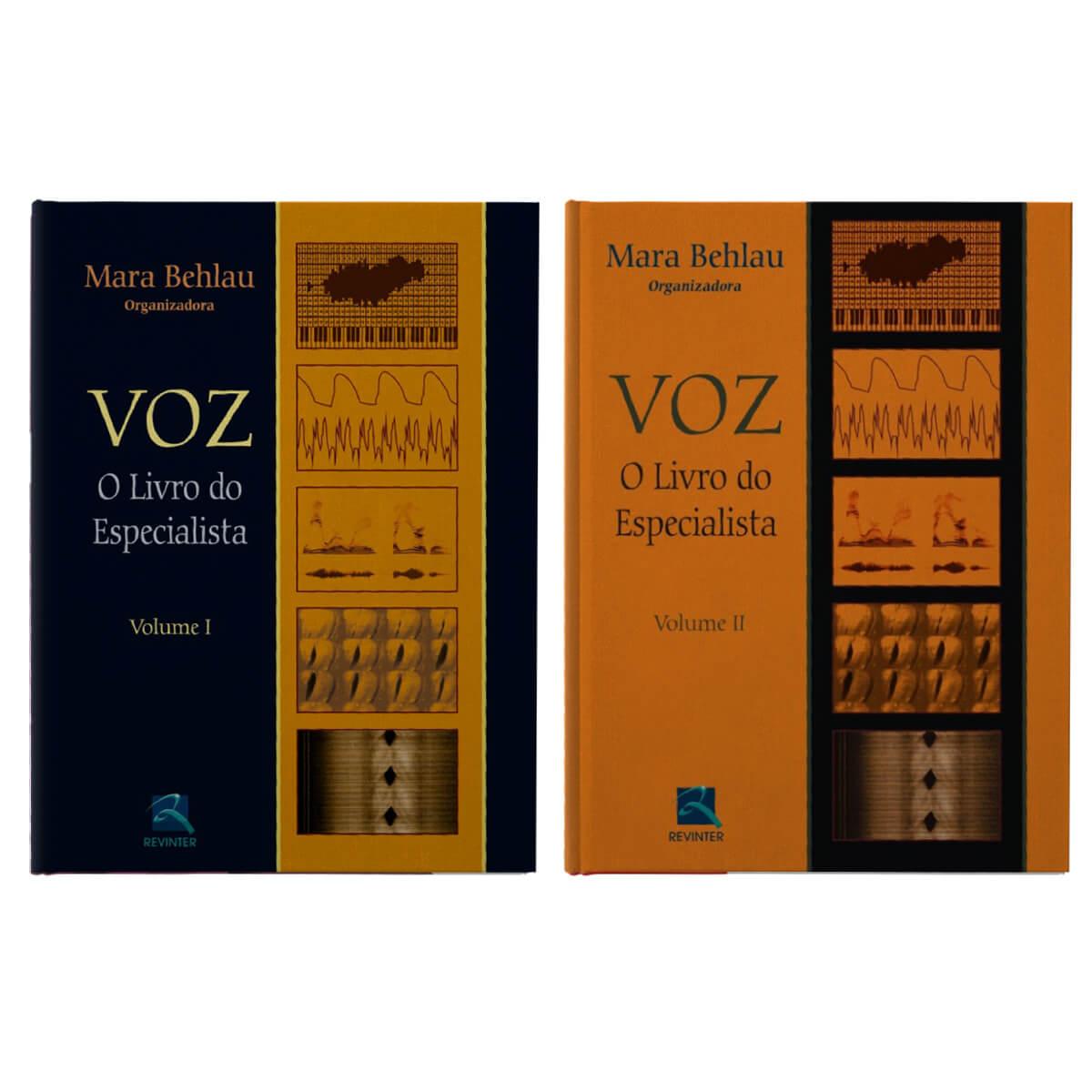 Kit Voz: O Livro Do Especialista Volumes 1 E 2