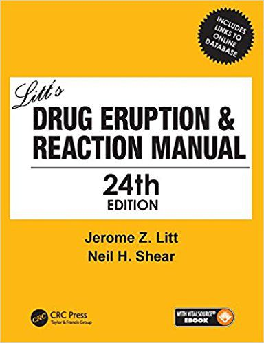 Livro Litt's Drug Eruption & Reaction Manual