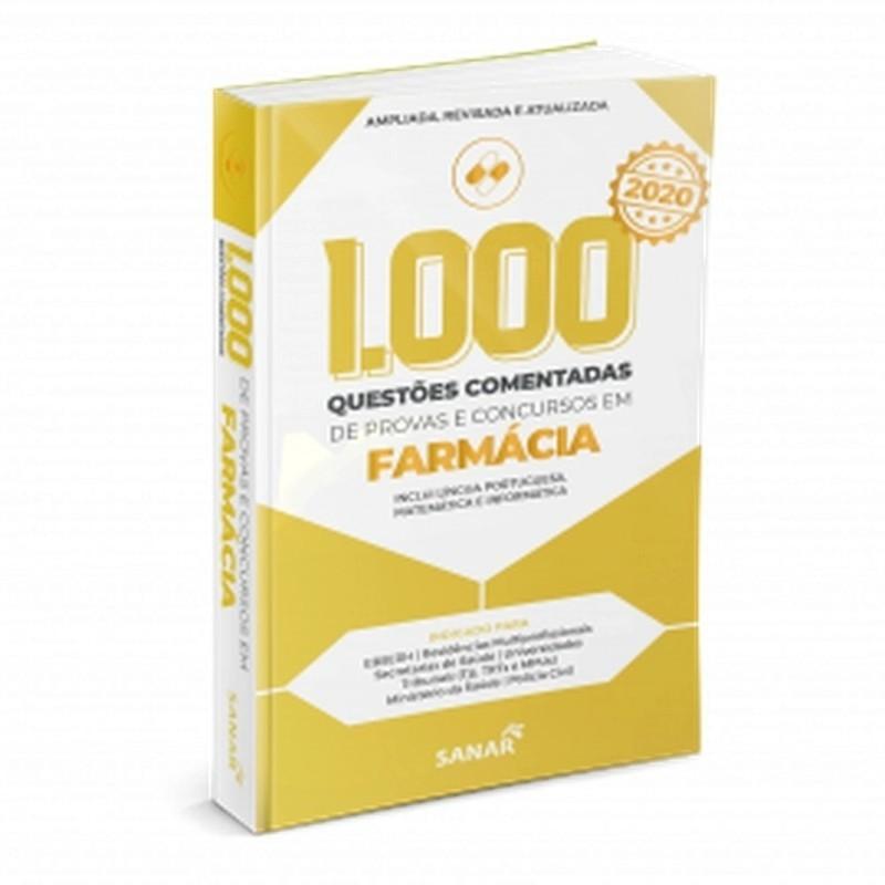 1.000 Questões Comentadas De Provas E Concursos Em Farmácia