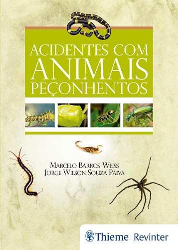Livro Acidentes Com Animais Peçonhentos