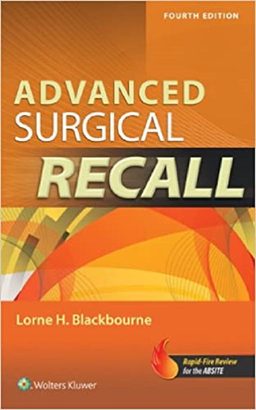 Livro Advanced Surgical Recall