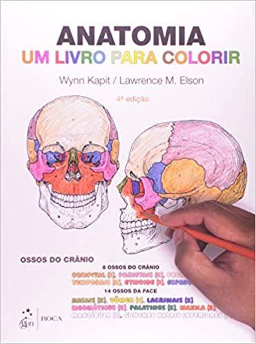 Livro Anatomia Um Livro para Colorir