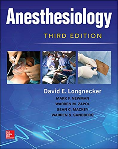 Livro Anesthesiology, Third Edition