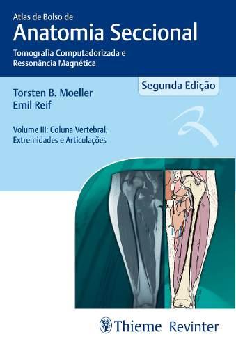 Livro Atlas De Bolso De Anatomia Seccional
