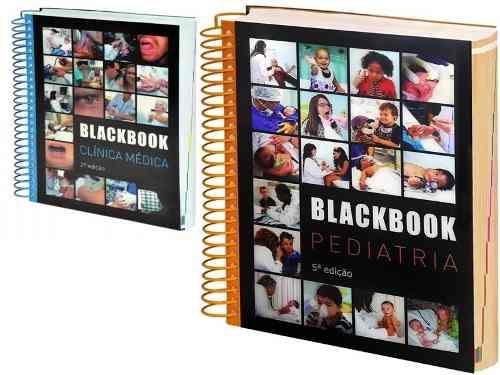 Livro Blackbook Clínica Médica E Pediatria Lacrado