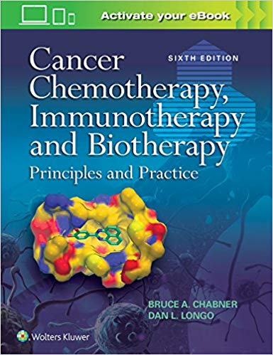 Livro Cancer Chemotherapy, Immunotherapy and Biotherapy