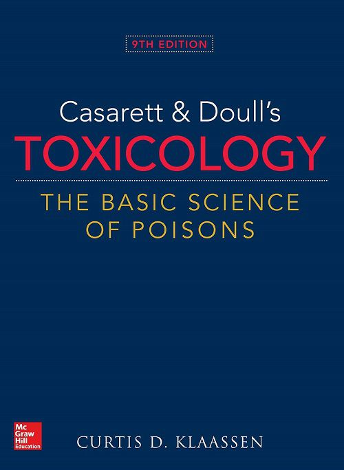 Livro Casarett & Doull's Toxicology: The Basic Science of Poisons, 9th Edition