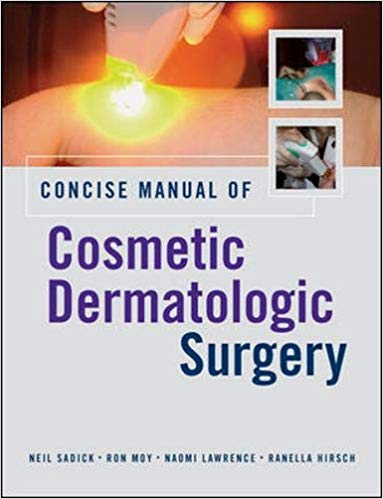 Livro Concise Manual of Cosmetic Dermatologic Surgery