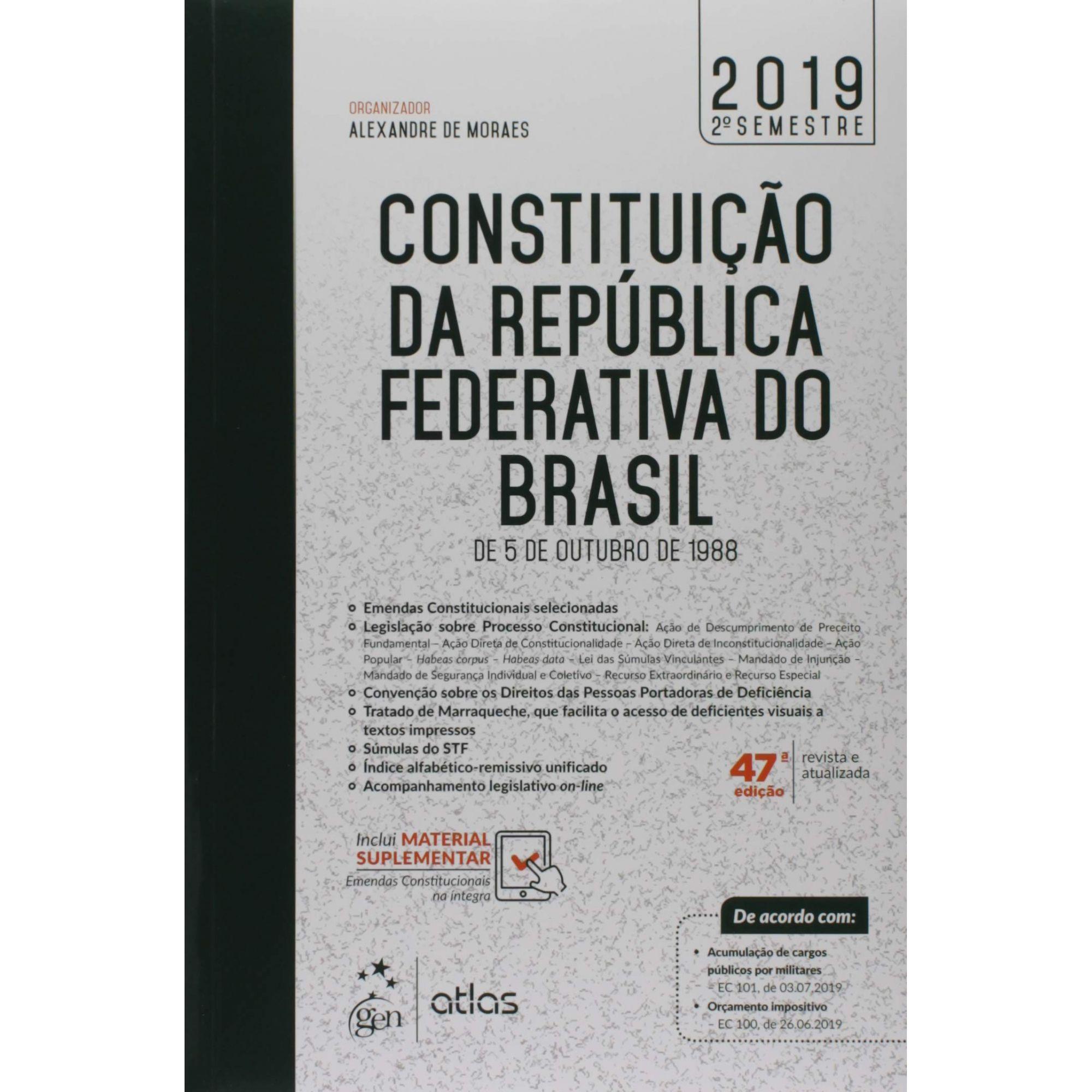 Constituição Da República Federativa Do Brasil, 05/10/1988