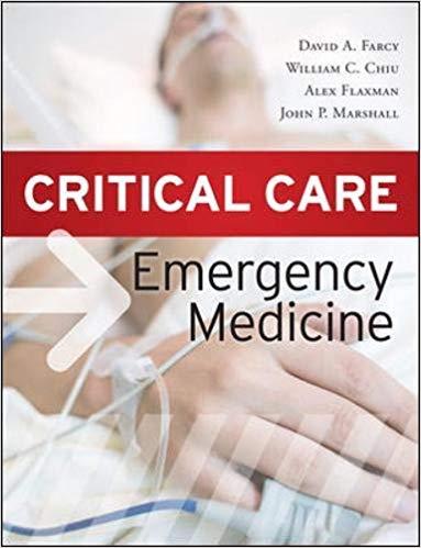 Livro Critical Care Emergency Medicine