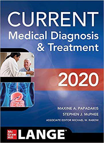Livro Current Medical Diagnosis and Treatment 2020