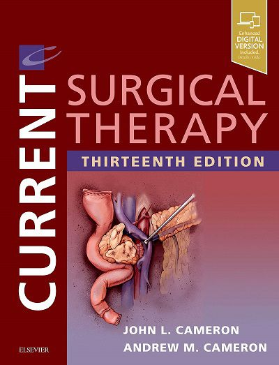 Livro Current Surgical Therapy, 13e