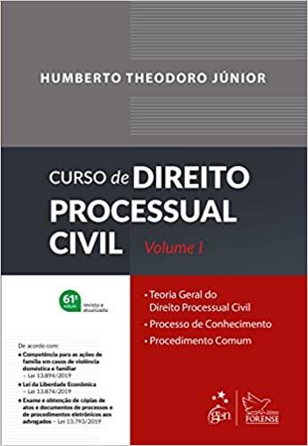 Curso de Direito Processual Civil Vol. 1