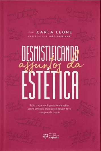 Livro Desmistificando Assuntos Da Estética