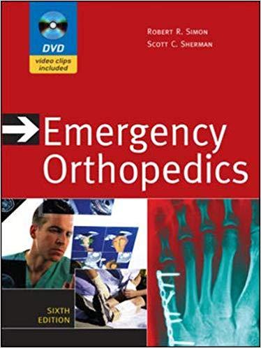 Livro Emergency Orthopedics