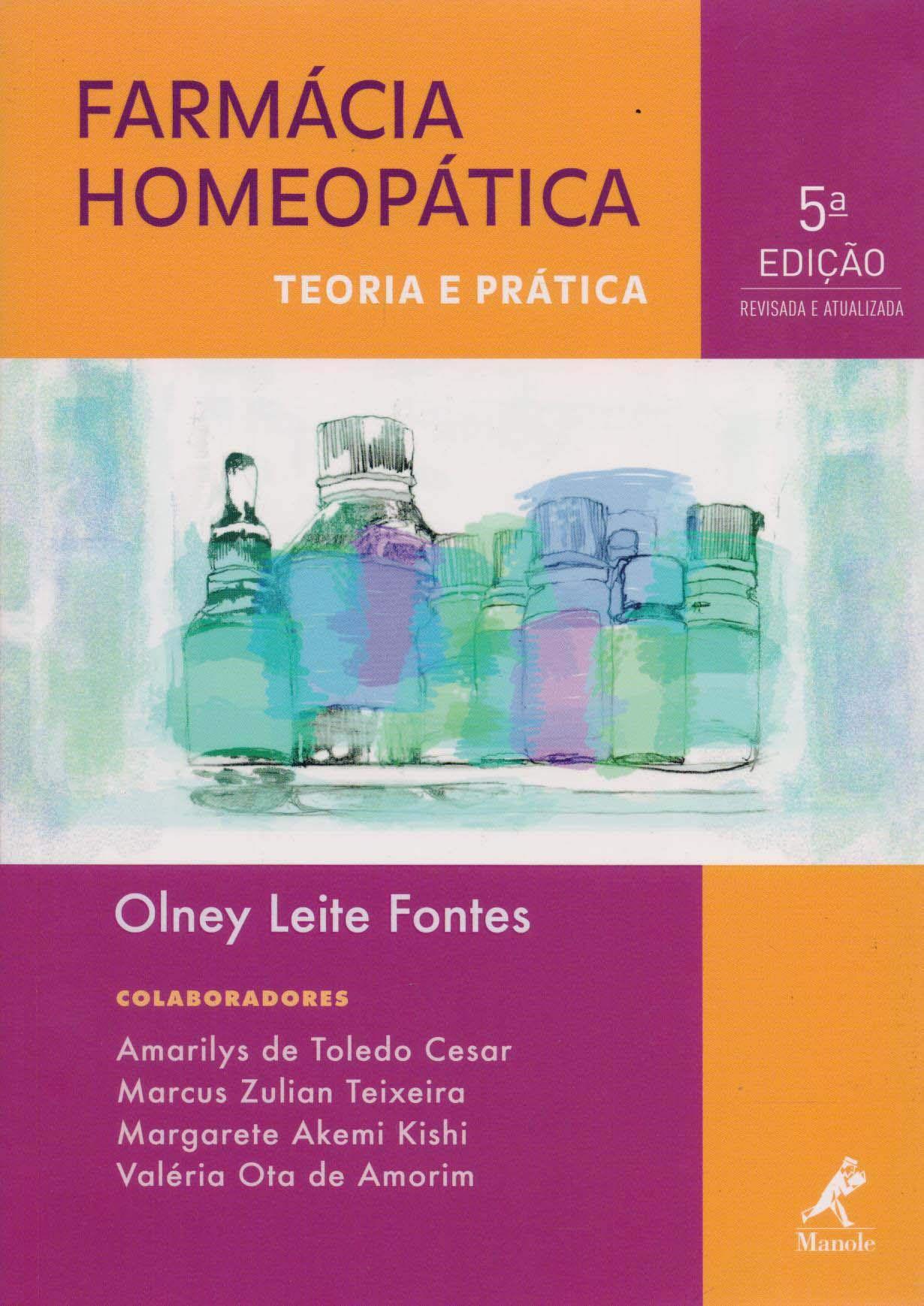 Livro Farmácia Homeopática