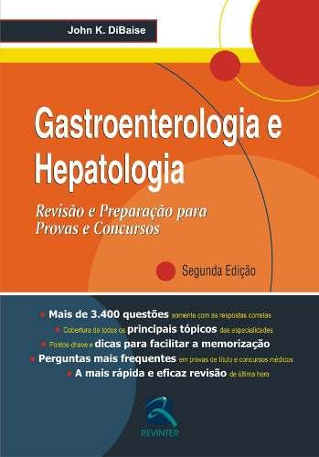 Livro Gastroenterologia E Hepatologia