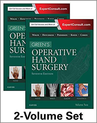Livro Green's Operative Hand Surgery, 2-Vol Set, 7e