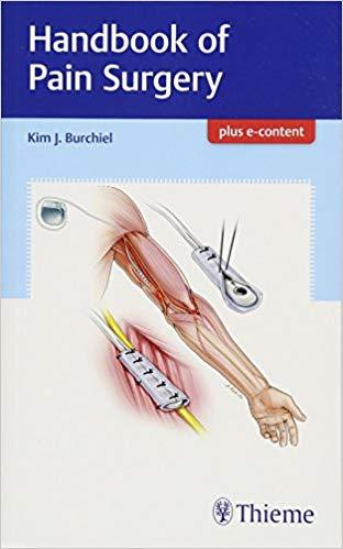 Livro Handbook of Pain Surgery