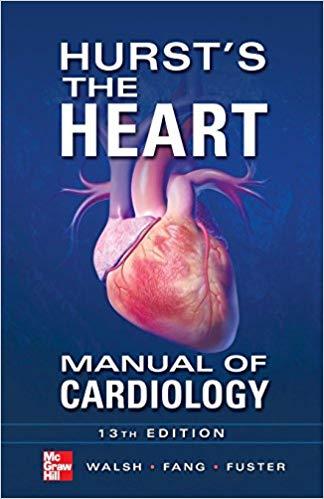 Livro Hurst's the Heart Manual of Cardiology