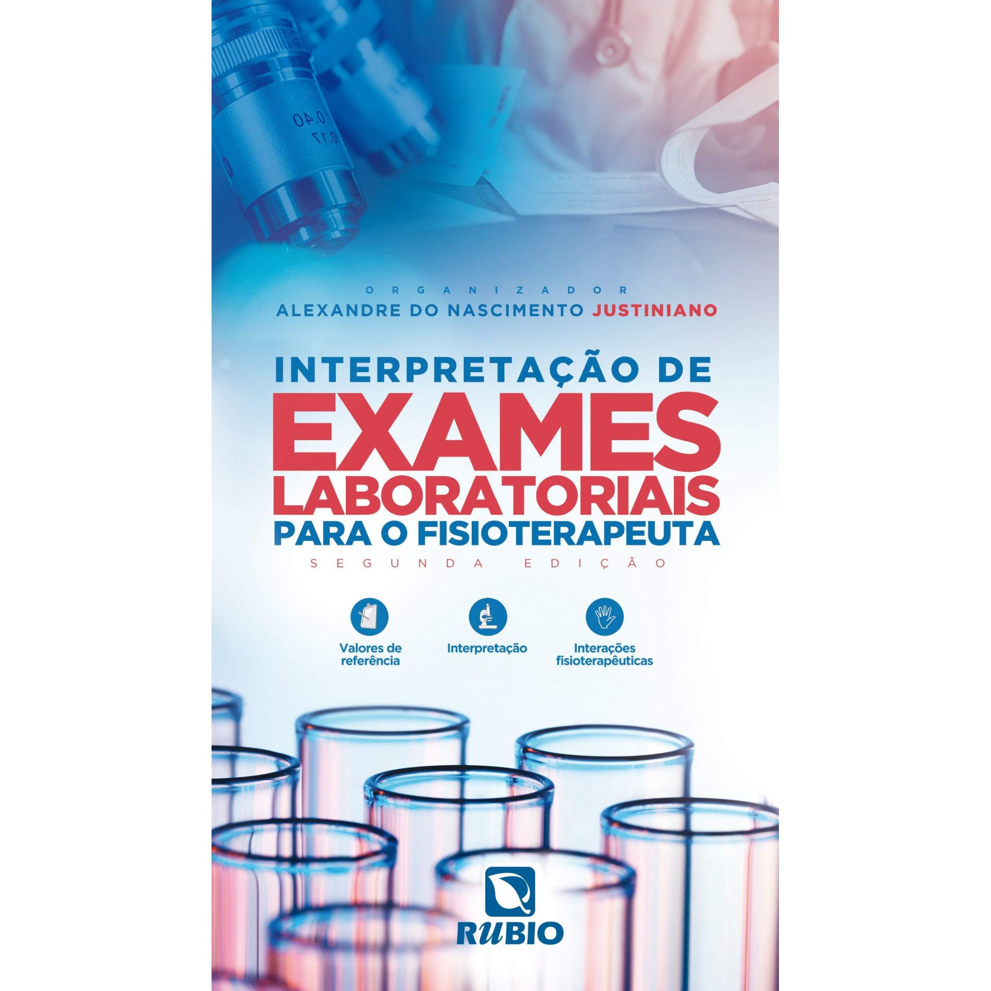 Livro Interpretação de Exames Laboratoriais Para o Fisioterapeuta