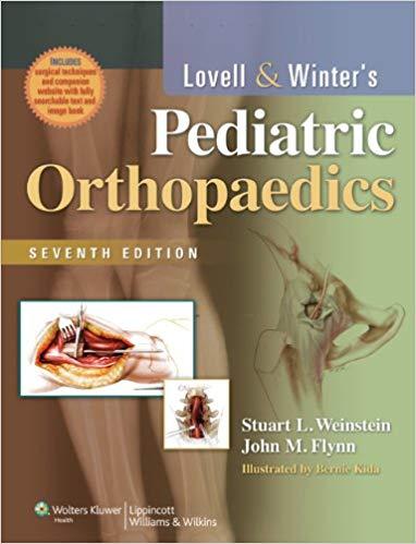 Livro Lovell and Winter's Pediatric Orthopaedics