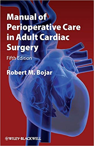Livro Manual of Perioperative Care in Adult Cardiac Surgery